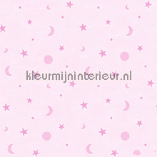 Roze manen en sterren
