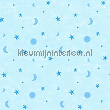 Blauwe manen en sterren