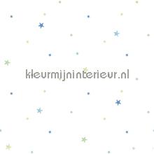 Blauwe en groene sterren