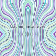 Moving lines aqua