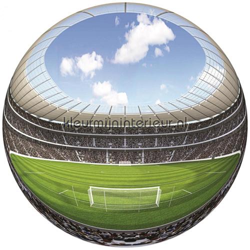 Stadion Fish Eye fotobehang 875 VE Z1 kinderkamer jongens ...