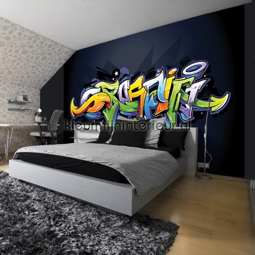 Freestyle graffiti fotobehang 1509-VE M kinderkamer jongens ...