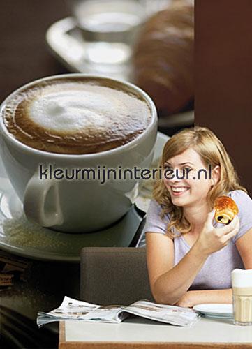 Caf� fotobehang 2-1015 keuken dessins Komar