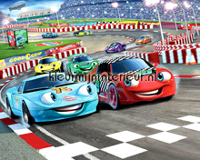Kinderkamer Jongens Fotobehang Walltastic Auto Cars
