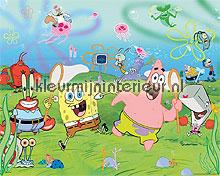 spongebob fotobehang kinderkamer jongens Walltastic