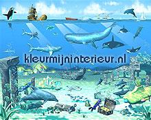onderwater fotobehang walltastic zee kinderkamer jongens