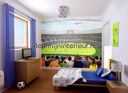 voetbal fotobehang 40151 kinderkamer jongens Walltastic