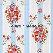 pip embroidery blue