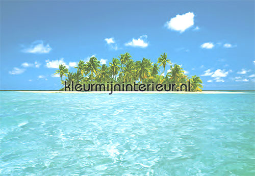 Behang Kinderkamer Strand : Maldive dream Zon - Zee - Strand ...