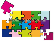 Puzzle interieurstickers Ideal Decor abstract modern