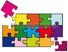 Puzzle autocolantes decoracao Ideal Decor Beb�s Crian�as