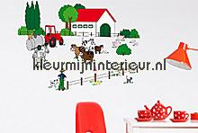 The farm interieurstickers Ideal Decor Baby Peuter