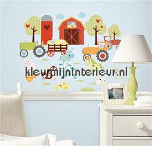 Happi barnyard autocolantes decoracao RoomMates Beb�s Crian�as