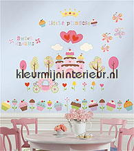 Happi cupcake interieurstickers RoomMates Baby Peuter