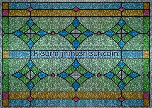 Glas in lood statisch raamfolie plakfolie