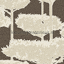 Trees glass mosaic antraciet zilver