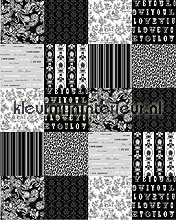 patchwork black