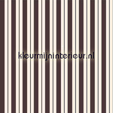 Stripes - dark sepia & black