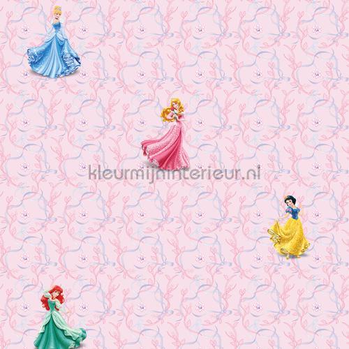Meisjes Behang Lief.Princess Pink Background Meisjes Behang