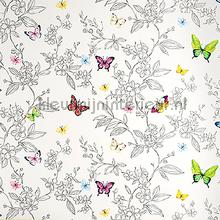 Sparkling butterflies wallpaper XXXL