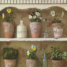 Romantisch Behang Rozen Bloemen behang