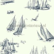 Sailboat toile white