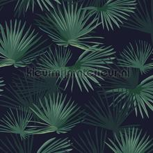 Palm Leaves Dark Green
