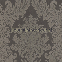 Textiele damask antraciet
