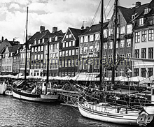 Copenhagen - black & white