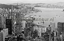 Hong Kong - black & white