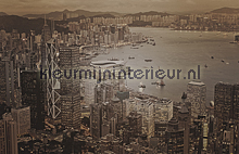 Hong Kong - vintage brown