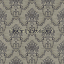 Floral bouquet damask antracite