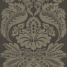 Large damask antracite