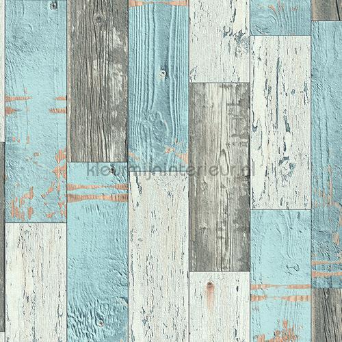Wonderbaarlijk Houten planken sloophout hout behang WU-64