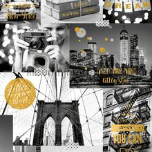 Love New York gold