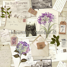 Botanical collage