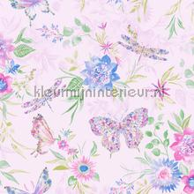 botanical Butterfly Pink