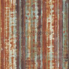 Striped rusty metal