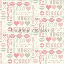 Hugs and kisses roze