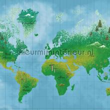 World Map fotowand