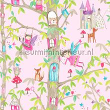 Woodland fairies - pink