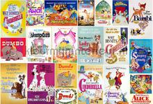 Fotobehang Disney Vintage Girls