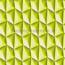 3d piramid grid green