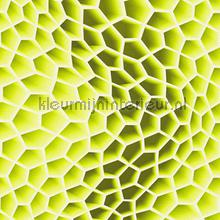 3d honeycomb yellowgreen