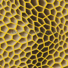 3d honeycomb yellowbrown