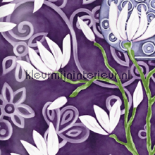In bloom purple wallpaper