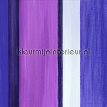Painted stripes purple wallpaper