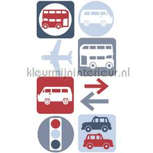 Traffic sticker
