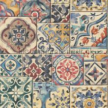 Old tiles mixed colours