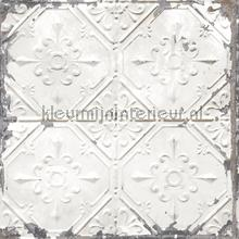 Old tin ceilingtiles off white